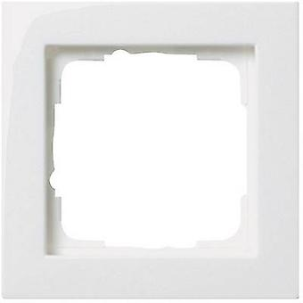 GIRA 1x Frame E2, Standard 55, System 55 Pure white 0211 29