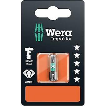 Torx bit T 25 Wera 867/1 IMP DC SB SiS Tool steel