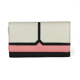 Eastern Counties Leather Womens/Ladies Bea Purse With Colour Block Panel