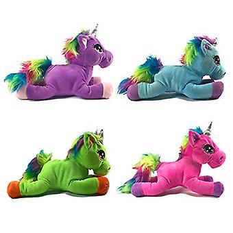 Putte Pals 30cm Rainbow Unicorn nuttede bløde legetøj