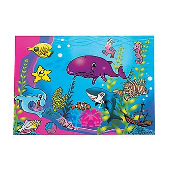 12 Sealife Sticker Scenes for Kids Crafts | Under the Sea Crafts