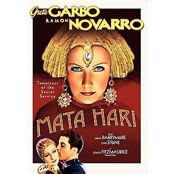 Mata Hari Movie Poster (11 x 17)