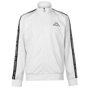 Kappa Mens Tri Tape Jacket Tracksuit Top Coat Long Sleeve Regular Fit