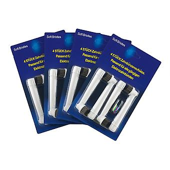 Oral B compatible toothbrush heads-16 x Precision Clean