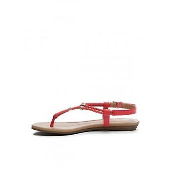 New Directions Womens Tullia Leather Split Toe Casual Slingback Sandals