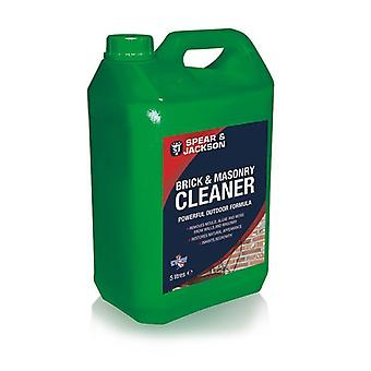 5L Ready to Use Brick and Masonry Cleaner by Spear & Jackson