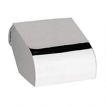 Sonia Covered Toilet Roll Holder Chrome 032402