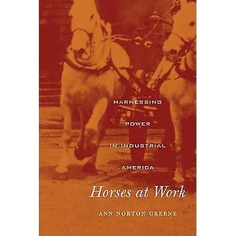 Cavalos de trabalho - aproveitamento de energia na América Industrial por Ann Norton