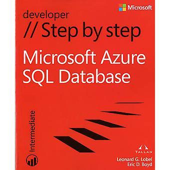 Microsoft Azure SQL bazy danych krok po kroku przez Leonard G. Lobel - Eric