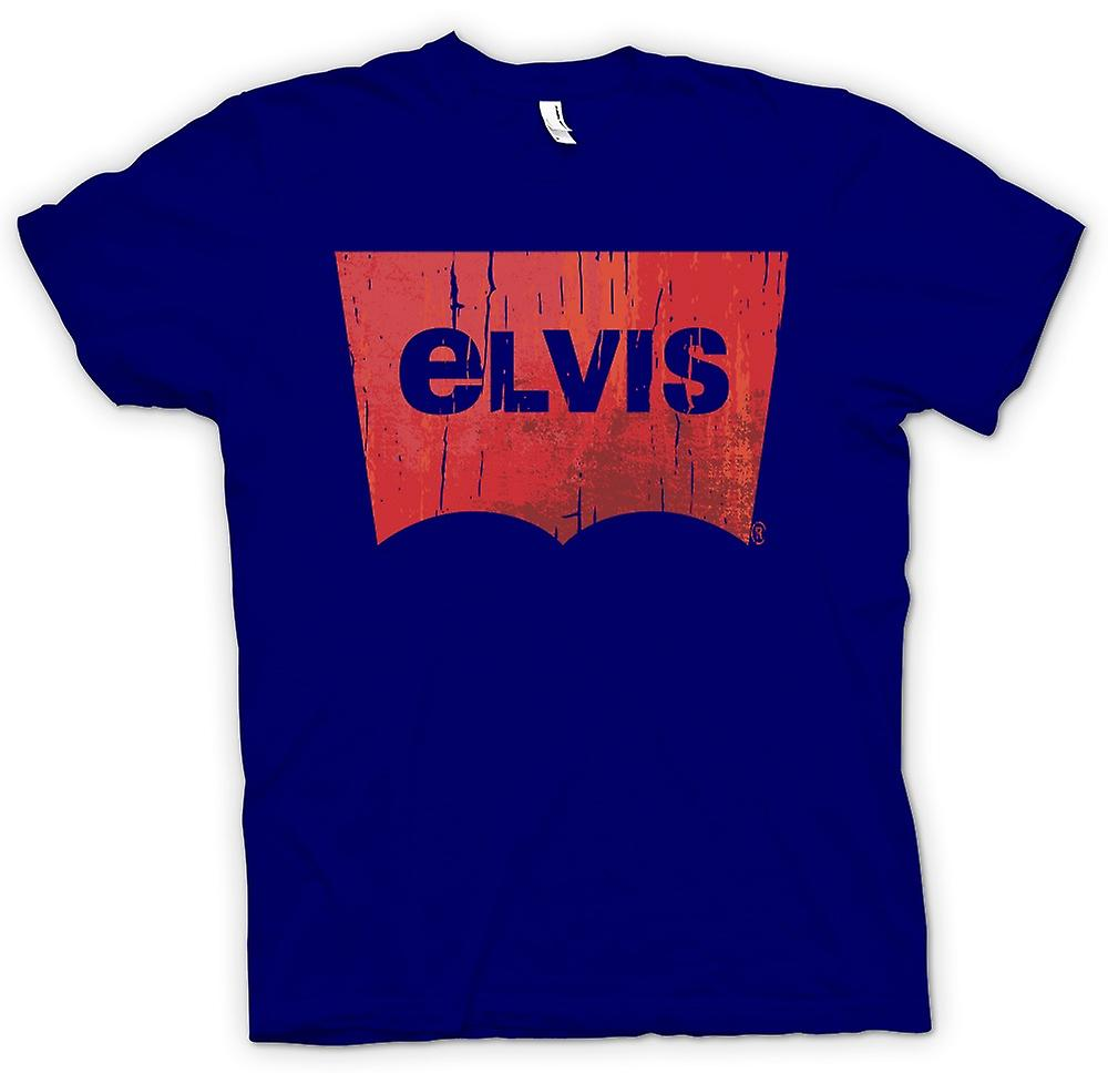 Hommes T-shirt - Elvis - Levis Inspired