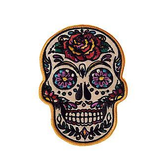 Banned Apparel Sugar Skull Patch