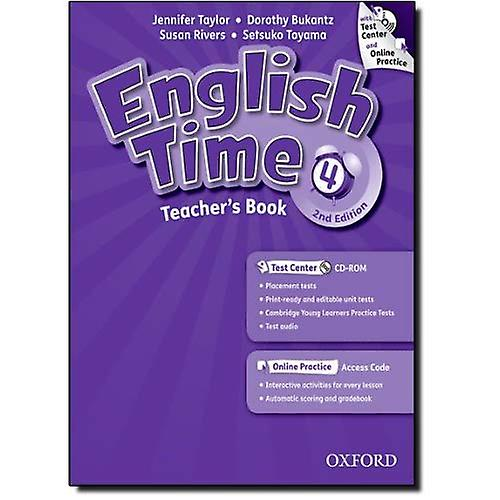 English Time  4  Teacher&s Book with Test Center and Online Practice