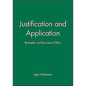 Rechtvaardiging en toepassing: opmerkingen over discours ethiek