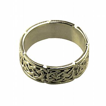 18ct Gold 6mm Celtic Wedding Ring Size H