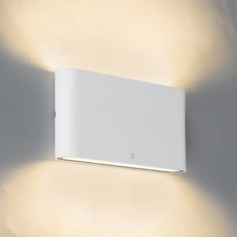 QAZQA lâmpada de parede moderna 17,5 cm branco IP65 incl. LED - Batt