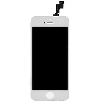 Stuff Certified ® iPhone SE / 5S screen (Touchscreen + LCD + Parts) A + Quality - White - Copy - Copy