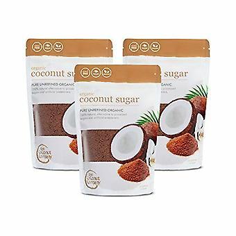 Organicznych kokosowe cukier - 12 szt - 300g każdego - Pure & nierafinowany