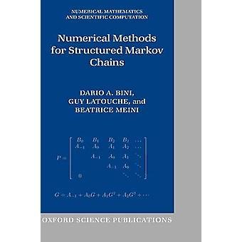 ダリオ A. ・ ビニによって構造化されたマルコフ連鎖の数値解法