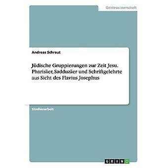 Jdische Gruppierungen zur Zeit Jesu. Phariser Sadduzer und Schriftgelehrte aus Sicht des Flavius Josephus by Schraut & Andreas