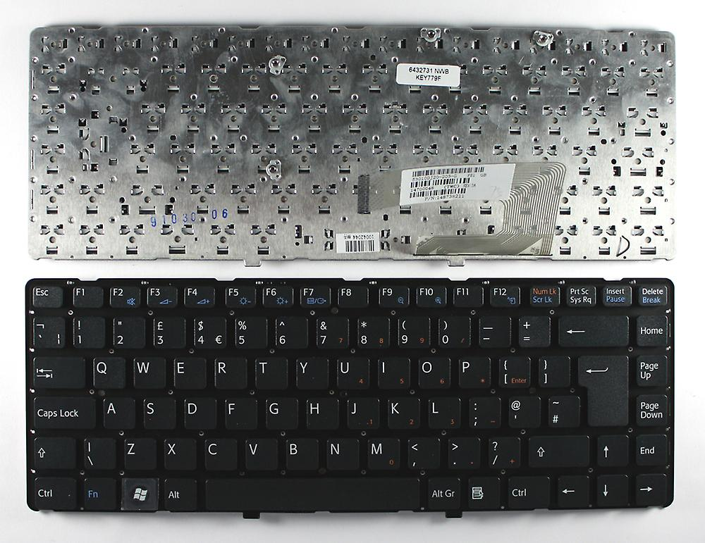 Sony Vaio VGN-NW21ZF noir UK Layout remplacement clavier d'ordinateur portable