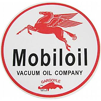 Mobiloil logo giant vinyl peel off decal / sticker    (ff)