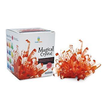 Magische Crystal Amethyst Rubin rot