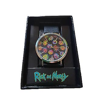 Rick et Morty hologramme visages Watch