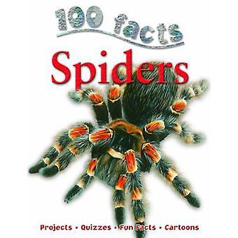 100 Facts Spiders by Camilla De la Bedoyere - 9781848104501 Book