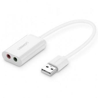 UGREEN USB 2.0 Externe 3,5mm Soundkarte Adapter