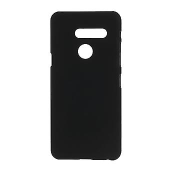 LG G8 ThinQ carcasa de plástico Rubberized-Black