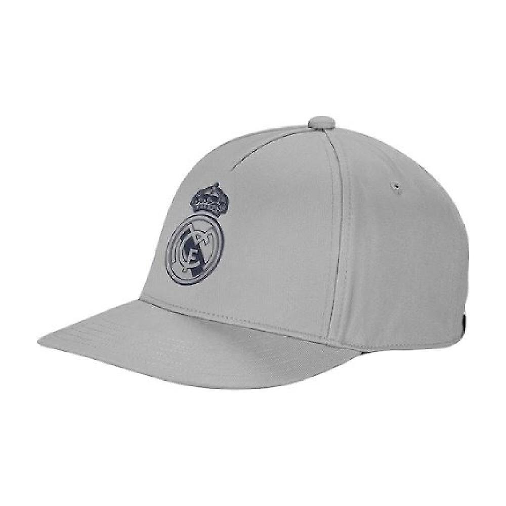2019-2020 Real Madrid Adidas CW Cap (solid Grey)
