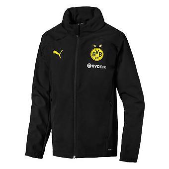2019-2020 Borussia Dortmund Puma Rain Jacket (Black)