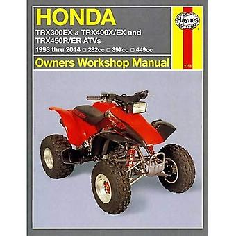 Honda TRX/EX/R/ER Automotive Repair Manual: 1993-2014 (Haynes Automotive Repair Manuals)