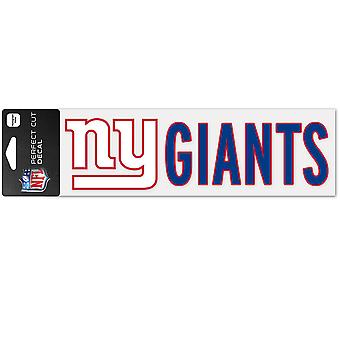 Wincraft decal 8x25cm - NFL Giants de New York