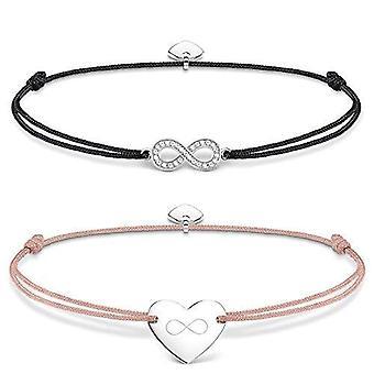 THOMAS SABO armband med silver Woman charm-SET0371-401 -7-L20v