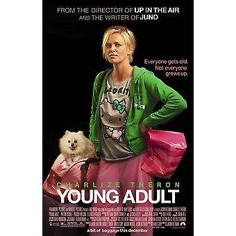 Young Adult Poster Double Sided Regular (2012) Original Cinema Poster