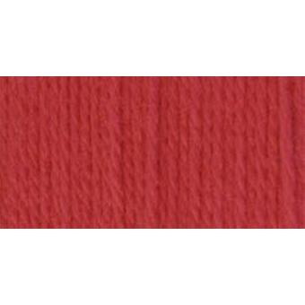 Satin Solid Yarn Soft Red 164104 4424