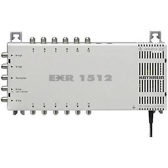 SAT multiswitch Kathrein EXR 1512 Inputs (multiswitches): 5 (4 SAT/1 terrestri