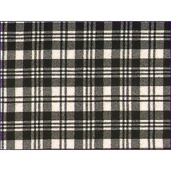 Scott Black/White, Modern - Pure Wool Tartan