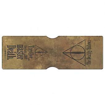 Titulaire de carte Harry Potter reliques de la mort