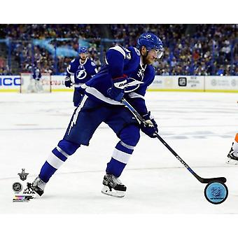 Victor Hedman 2016 Stanley Cup Playoffs Action Photo Print