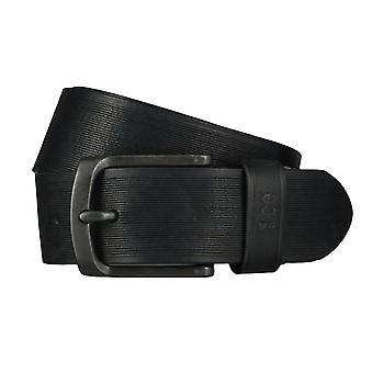 Lee belts men's belts leather belt black 4653
