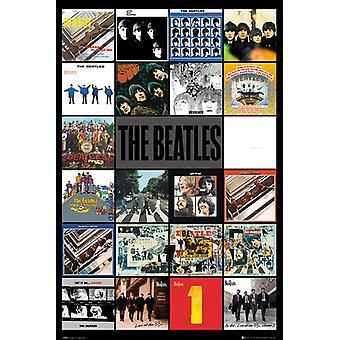Das Beatles-Alben Maxi Poster