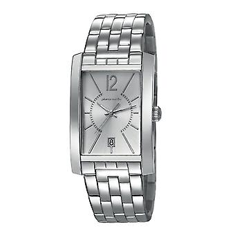 Pierre Cardin mens watch wristwatch GARE DE LYON silver PC106551F07