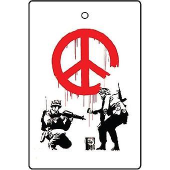 CND Banksy soldados ambientador de aire