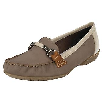 Ladies Rieker Moccasin Style Shoes 42150