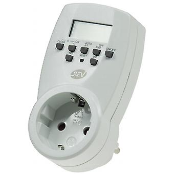 Digital weeks timer 230V/1800W with integrated child protection