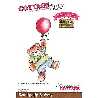 CottageCutz Stamp & Die Set-Up, Up & Away CCS020