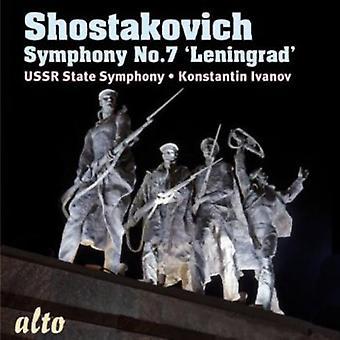 Ussr State Symphony - Shostakovich: Symphony No. 7 Leningrad [CD] USA import
