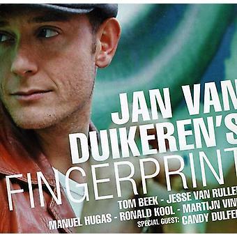 Jan Van Duikeren - Fingerprint [CD] USA import